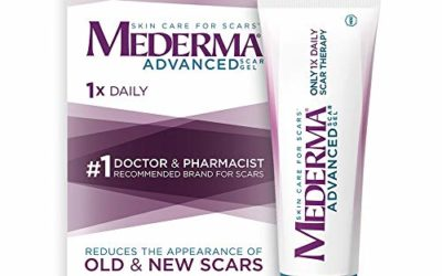 Mederma Advanced Scar Gel – 1x Daily – Reduces The Appearance of Old & New Scars – #1 Doctor & Pharmacist Recommended Brand for Scars – 1.76oz.