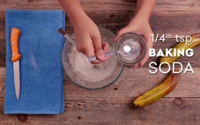 Banana Balls | Back to School Recipes by Grofers