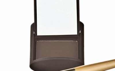 Joan Rivers Great Hair Day Fill-In Powder – Root Cover Up for Thinning Hair – Thicker and Fuller Hair (Brunette)