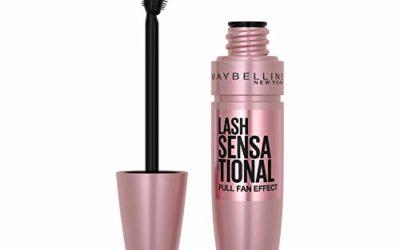 Maybelline Lash Sensational Washable Mascara, Blackest Black, 0.32 fl. Oz. (Packaging May Vary)