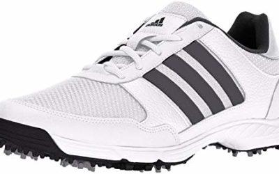 adidas Men's Tech Response Golf Shoe, White, 11.5 M US