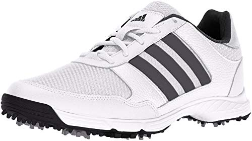 adidas Men's Tech Response Golf Shoe, White, 11.5 M US