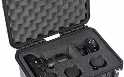 SKB iSeries 3i-1309 Military-Grade Waterproof Hard Case for BlackMagic Design Pocket Cinema Camera 4K & Accessories