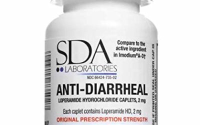 Anti-Diarrheal 2MG 200 Caplets by SDA Labs