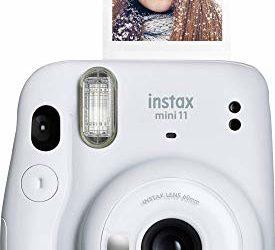 Fujifilm Instax Mini 11 Instant Camera – Ice White