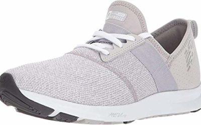 New Balance Women's FuelCore Nergize V1 Sneaker, Overcast/White/Heather, 7.5 M US