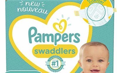 Diapers Size 3, 136 Count – Pampers Swaddlers Disposable Baby Diapers, Enormous Pack (Packaging May Vary)