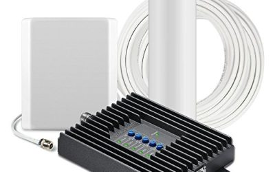 SureCall Fusion4Home Cell Phone Signal Booster Kit for Home and Office – Verizon, AT&T, Sprint, T-Mobile 3G, 4G and LTE, Covers Up to 3,000 Sq Ft
