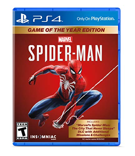 Marvel's Spider-Man: Game of The Year Edition – PlayStation 4