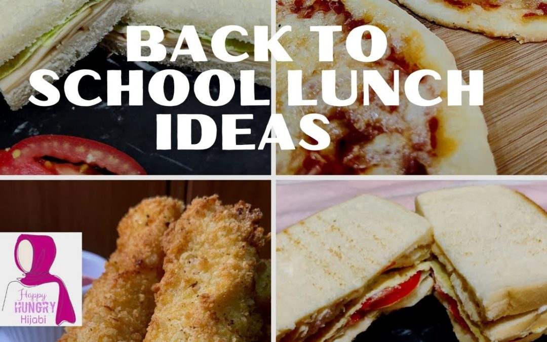 Back to School Lunch Ideas   Kids Lunch Box   10 minute recipes