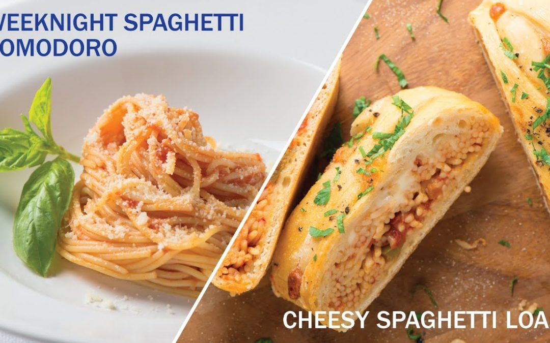 Back-to-School Easy Spaghetti – Italpasta Recipe