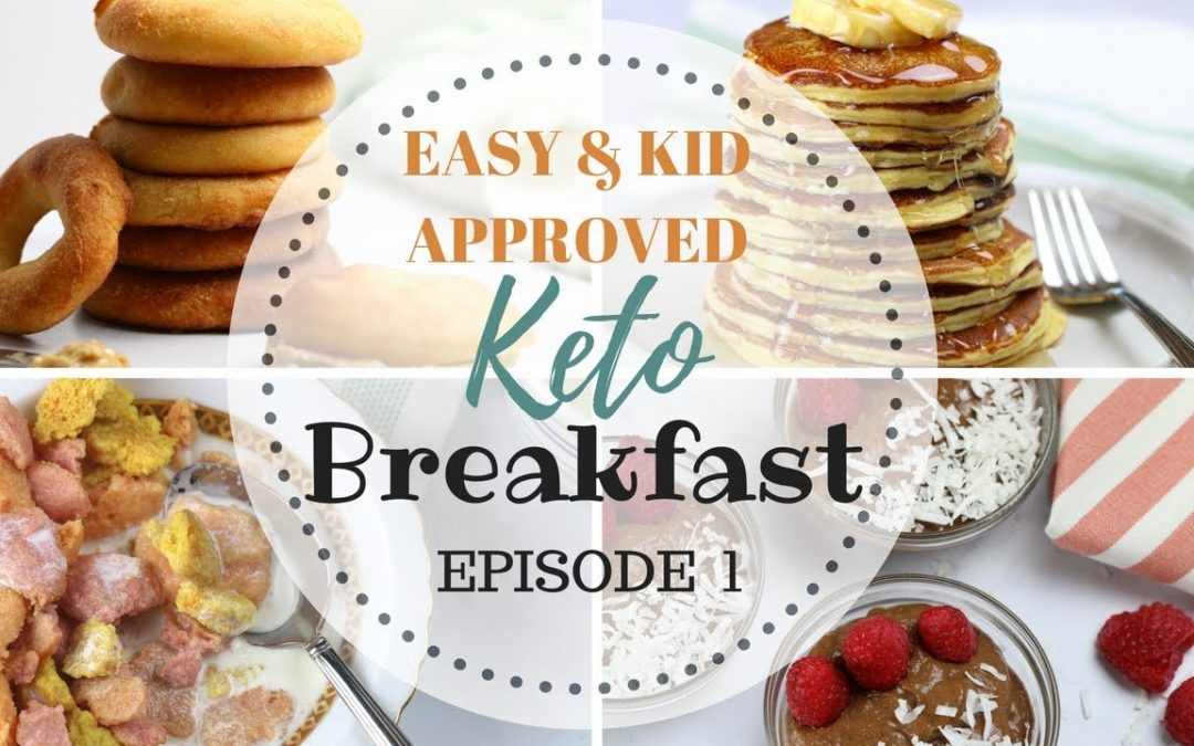 EASY KETO Breakfast ideas | Keto Back to School Meals | Keto Kid & Sugar Free Recipes PART 1