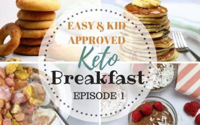 EASY KETO Breakfast ideas | Keto Back to School Meals | Keto Kid & Sugar Free Recipes PART 1